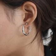 plump clip earring(귀찌)