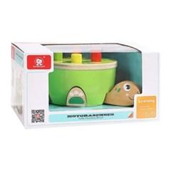 탑브라이트 거북이 망치놀이 블럭 장난감