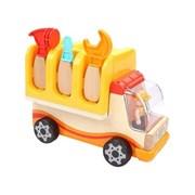 탑브라이트 원목 공구트럭 놀이세트 장난감