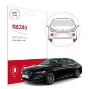 스코코 현대 그랜져 IG 자동차 안개등 PPF 보호필름_(654800)