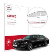 스코코 현대 그랜져 IG 도어 스텝 자동차 PPF 보호필름_(654799)