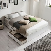 [잉글랜더]플레인 서랍형 침대(양모 라텍스 9존 독립스_(11849226)