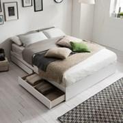 [잉글랜더]플레인 서랍형 침대(DH 본넬스프링 서포트 매_(11849220)