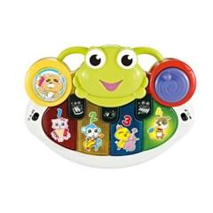 (올리자토이) 개구리 동물 피아노 멜로디완구 장난감