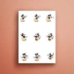 디즈니 미니마우스 훌라 17115 500X700