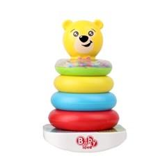 (올리자토이) 오뚜기 곰돌이 링끼우기 장난감