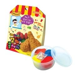 꼬마클레이 - 후라이드 치킨 만들기