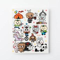[룸룸] 놀이공원 v.3 스티커 (8매)