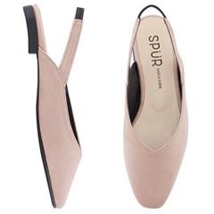 SPUR[스퍼] 슬링백 MF9001 Cozy sling back 핑크