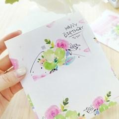 카드] 생일케이크