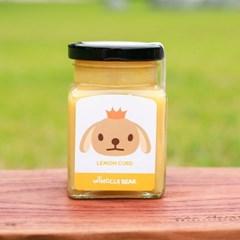 윙클베어 레몬커드 잼 220g 무설탕 /무방부제/핸드메이드