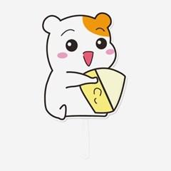 에비츄 손부채_치즈먹츄