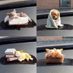 강아지 고양이 돼지 인테리어 소품 장식품