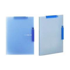 2500 더블원터치 클립화일(블루)_(2285975)