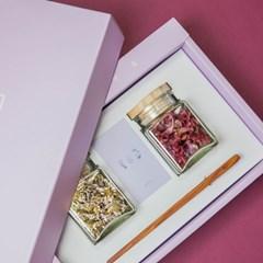 리로라 꽃차 선물세트 - 구절초, 맨드라미