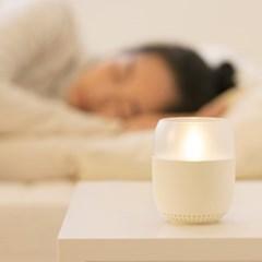 이모이 바람인식 캔들 LED 램프 스피커 무드등 수유등 취침등 수면등
