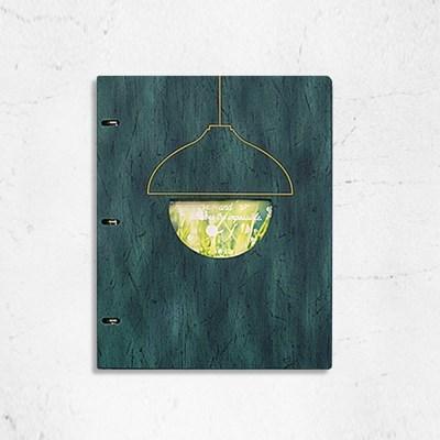 친환경 링바인더 램프 메뉴판 A4 외 사이즈