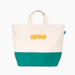 [플루토나인] 자수 포인트 기저귀가방 숄더백