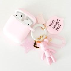 딸기 Mini Charm + AirPods