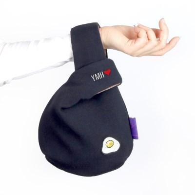 매듭 손목가방-커스텀자수