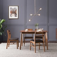 [잉글랜더]스테판 원목 식탁세트(의자4)_DIY