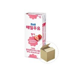 매일 딸기맛우유 200ml 1박스(24개)_(698431)