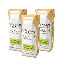 매일 상하목장 바나나우유 125ml 3개묶음_(698422)