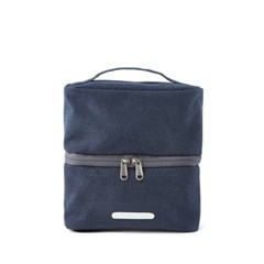 PACK DOUBLE POUCH 131 WAXED CANVAS NAVY_(581912)