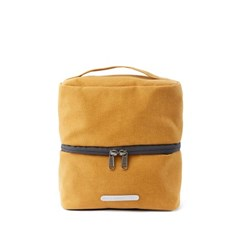 PACK DOUBLE POUCH 131 WAXED CANVAS MUSTARD_(581911)