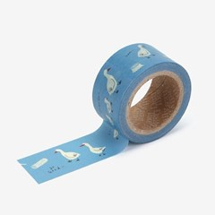 Masking tape 25mm - 01 Duck