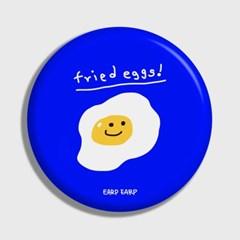 [어프어프] 손거울 Fried eggs-blue
