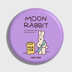[어프어프] 손거울 Moon rabbit-violet