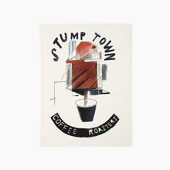 Keep weird 무지 노트 - Stumptown Coffee Drawing