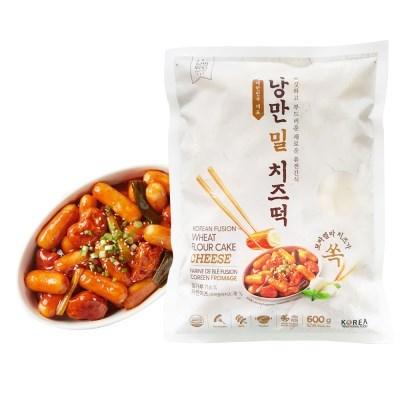 [추억의 국민학교 떡볶이] 국떡 낭만밀치즈떡