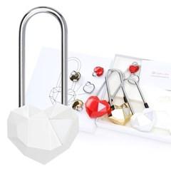사랑의자물쇠 커플락 CL-1 프리미엄 화이트