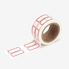 Masking tape 25mm - 05 name tag2