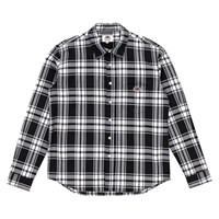 [SD] L/S 1PK CHECK SHIRTS_BLACK