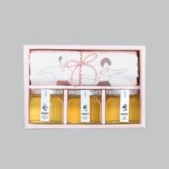 돌코롬제주A(꿀3종+에코백)