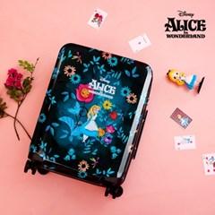 [디즈니] 앨리스 'Where am I?' 캐리어 기내용 20형 다크그린
