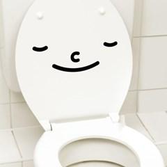 화장실 라이프 스티커 해피스마일