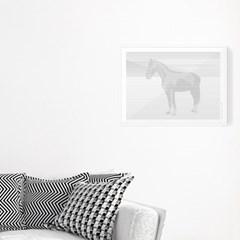 포스터 액자 HORSE IN A LANDSCAPE 40X30cm