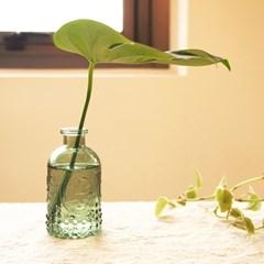 테이블 그린 화병(꽃병)