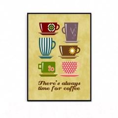거실 주방 커피 인테리어 액자_커피타임A