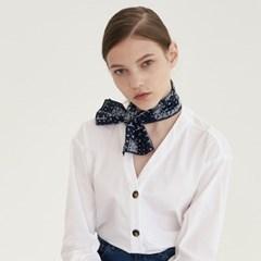 ribbon paisley mini scarf