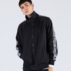 LOGO TAPE TRACK JACKET (BLACK)
