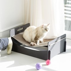 런메이크 모던 강아지 고양이해먹 침대-집 애견하우스