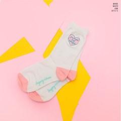 [LEEGONG] 방과후 핑크생활 양말