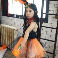 큐티마녀 스커트세트 (오렌지)_(301607215)