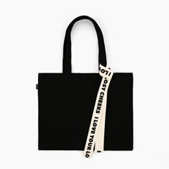[텐바이텐 단독] ALMOSTBLUE RIBBON ECO BAG