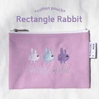 rectangle rabbit pouch